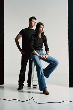 Charlotte Gainsbourg and Étienne Daho shot by Gregoire Alexandre 2003 Charlotte Gainsbourg, Type I, Expo, Music Artists, Pretty People, Fan, French Pop Music, Photography, Woman