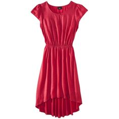 Mossimo® Women's Refined Hi/Low Dress w/Flutter Sleeves - Assorted Colors