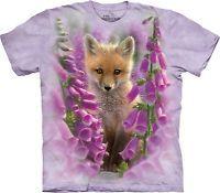 The Mountain Unisex Adult Foxgloves Animals T Shirt