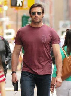 Hugh in NYC during Summertime