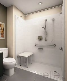 Handicap Showers | Handicap shower stall