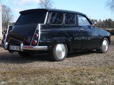Saab 95 V4 kompressor.