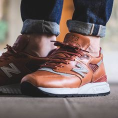 Sneakers: Horween Leather X New Balance 998.