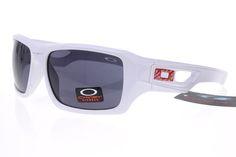 Oakley Gascan Sunglasses White Frame Gray Lens 0484