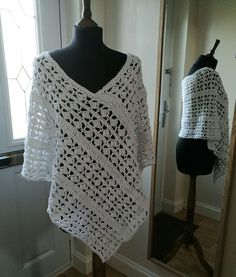 Eve Poncho- crochet pattern on sale soon!