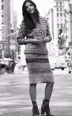 Sweaterknit Pencil Skirt #anthrofave