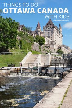 We share our list of family-friendly things to do in Ottawa, Ontario, Canada. Including where to eat, where to stay, what to see, and what to do - both indoors and outdoors. We are sure that your entire family will fall in love with this great city! Cool Places To Visit, Places To Travel, Travel Destinations, Places To Go, Ontario Travel, Toronto Travel, Alberta Canada, Travel With Kids, Family Travel