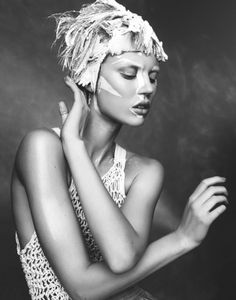 Photographer | Benjamin Vnuk | stylist | Nicole Walker | fashion editorial | white | high fashion | cool | elegant | high fashion | photo | www.republicofyou.com.au