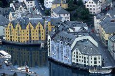 Alesund est une commune de Norvège