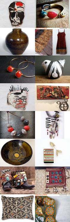 Tribal Energy by Korinne on Etsy--Pinned with TreasuryPin.com