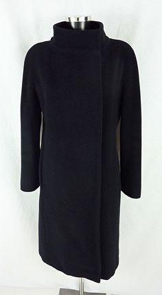 Manteau noir en laine et cachemire MAX MARA SOLD OUT! VENDU!