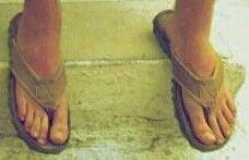 Jonathan Silver Scott. Feet,  Size 13
