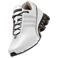 Adidas Porsche Design adidas Mens RUN Bounce SL P5510 White/White/Titanium Adidas Sport, Adidas Men, Nike Shox