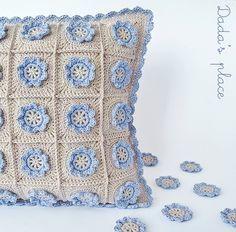 画像 Crochet Home, Love Crochet, Crochet Motif, Crochet Crafts, Crochet Projects, Knit Crochet, Blanket Crochet, Crochet Granny, Crochet Baby