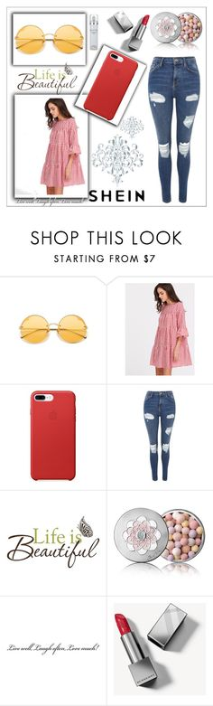 """Shein contest"" by naruto-minato ❤ liked on Polyvore featuring Topshop, Brewster Home Fashions, Guerlain, Burberry and Kenneth Cole"