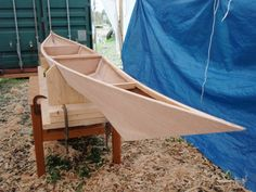 Warren Williamson's Custom Stitch And Glue Greenland Kayak