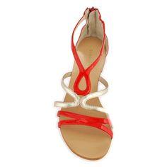 Sandalen in leer Ibane