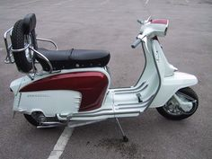 This is not a Vespa. It is a Lambretta This is not a Vespa. It is a Lambretta Scooters Vespa, Vespa Bike, Lambretta Scooter, Motor Scooters, Retro Scooter, Scooter Wheels, Motorcycle Wheels, Kick Scooter, Triumph Motorcycles