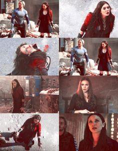 elizabeth olsen scarlet witch civil war - Google Search