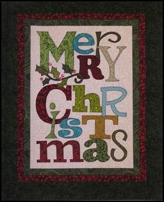 Merry Christmas Quilt.