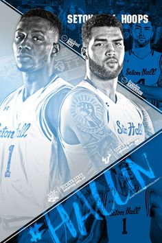 Seton Hall Basketball Program Covers on Behance