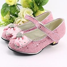 Girl's Shoes Heels Chunky Heel Faux Leather Pumps/Heels Shoes More Colors available – USD $ 29.99