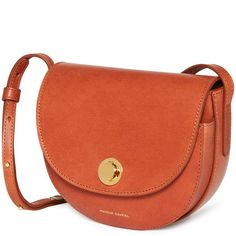 MANSUR GAVRIEL - Vegetable Tanned Mini Saddle Bag