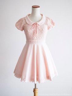 LIZ LISA Collaborated My Melody Limited Puff Dress Baby Lolita Kawaii Japan  #LizLisa #SailorUniformPeplumTunic #Shibuya109Lolitafashion