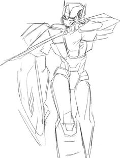 Female Optimus? Female Warrior Cypertronian.