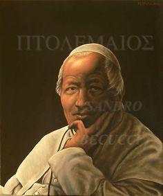 """Dipinto di Sandro Becucci: """"Ritratto diPio IX"""" olio su tela 50x60 2010 Portrait of the Pope PIUS 9th from a b daguerreotype of 19th century; Religious.-                       Ritratto di PIO IX elaborato da un dagherrotipo ottocentesco in bianco e nero.  L'ho trovato su #eBay! http://r.ebay.com/JsaXI2"""