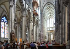 Koln Cathedral Germany - someday i'll see where my grandfather was an altar boy so long ago