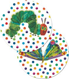 The Very Hungry Caterpillar™ -- Two-Sided Decorations can also be used to accent bulletin boards or label learning centers! Their colorful designs are printed on the front and back and each decoration features a drilled hole for easy hanging. Hungry Caterpillar Classroom, Very Hungry Caterpillar, Carson Dellosa, Eric Carle, Chenille, Coordinating Colors, Learning Centers, Classroom Themes, Conte