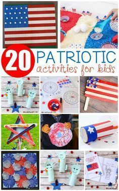 These fun printables crafts and patriotic activities for kids are perfect for Memorial Day the of July President's Day and Veteran's Day! Memorial Day Activities, Veterans Day Activities, Holiday Activities, Preschool Crafts, Toddler Activities, Preschool Activities, Kids Crafts, Summer Activities, Veterans Day For Kids