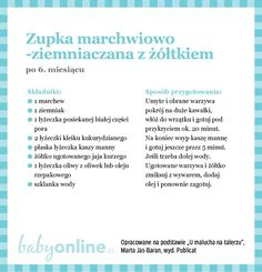 Przepisy dla niemowlaka - Zupki dla niemowlaka | Strona 8 | Baby online Baby Cooking, Cooking With Kids, Baby Food Recipes, Diet Recipes, Baby Eating, Fett, Kids And Parenting, Food And Drink, Baby Boy