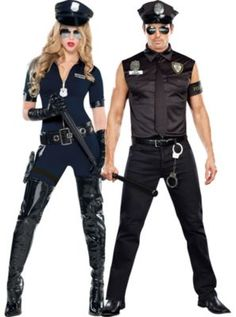 Cop Couples Costumes