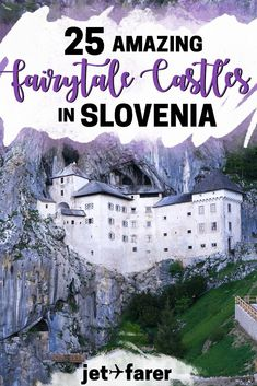 These Fairytale Castles in Slovenia Will Make You Want to Book A Trip Slovenia Travel: Planning a trip to Slovenia? Check out this complete guide to 25 of Slovenia's most beautiful fairytale castles, many of which you can visit! Slovenia Ljubljana, Bled Slovenia, Slovenia Travel, Visit Slovenia, Europe Destinations, Europe Travel Guide, Asia Travel, Time Travel, Travel Bag