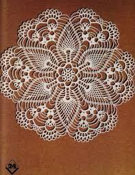 Image result for star of david pineapple crochet doily