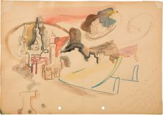 Jonas Lipps,<em>Untitled</em>, 2008<br />Watercolour and pencil on paper<br />21 x 29.7 cm
