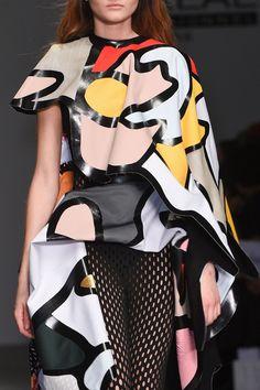 600 details photos of Central Saint Martins at London Fashion Week Fall 2015.