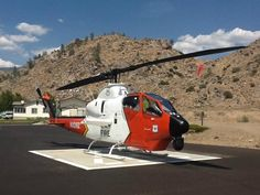 U.S. Forest Service AH-1 Cobra FireWatch helicopter