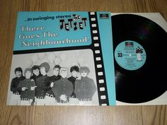THE JETSET There Goes The Neighbourhood UK VINYL LP - MOD POWER POP BLUE SLEEVE
