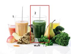Här får du receptet till en grön smoothie som är proppfull av alla viktiga ämnen, så att du snabbt kan fylla dagens grönsakskvot.
