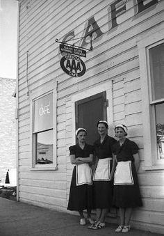1936, Cafe Waitress