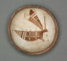 Bowl with Grasshopper, c 1000-1150 Southwest, Mogollan, Mimbres, Pre-Contact Period, 11th-12th century | Cleveland Museum of Art