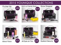 New Younique products! 6 new collection highlighting our new March releases! I can't even pick a favorite! And the new bags are so pretty! This is a great way to try all the new products and save money! 3d Fiber Lashes, 3d Fiber Lash Mascara, New March, Younique Presenter, I Cant Even, Natural Cosmetics, Makeup Cosmetics, New Bag, Free Makeup
