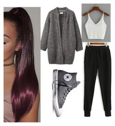 """""""Sport 💓"""" by adine233 on Polyvore featuring WithChic, Toast and Converse"""