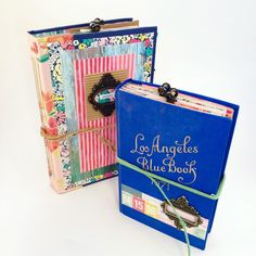 Just added these two funky, colorful journals!