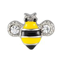Celebrate the humble bee with this delightful double-crystal charm. Locket Charms, Lockets, South Hill Designs, Origami Owl, My Happy Place, Jewelry Collection, Bee, Wings, Jewelry Design