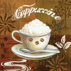 Shop for Portfolio Canvas Decor Elena Vladykina 'Coffee Break Americano' Framed Canvas Wall Art (Set of Get free delivery On EVERYTHING* Overstock - Your Online Art Gallery Store! Coffee Wine, I Love Coffee, Coffee Break, Black Coffee, Coffee Cup, Vintage Coffee, Vintage Tea, Café Chocolate, Coffee Facts