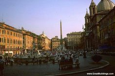 Piazza Navona, Rome Italy. (I was here June 2013)